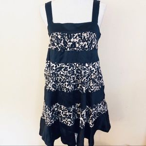 Diane Von Furstenberg abbey Silk Mini Dress sz L